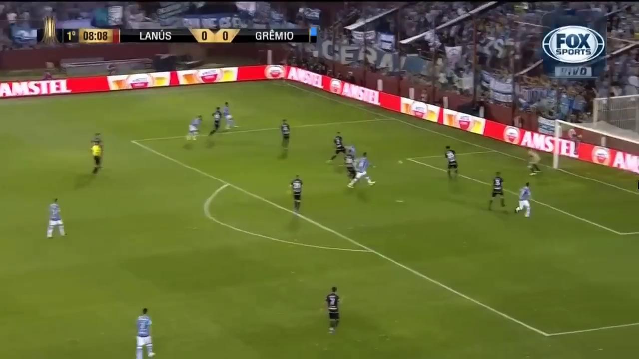 Chung kết Copa Libertadores: Lanus 1-2 Gremio