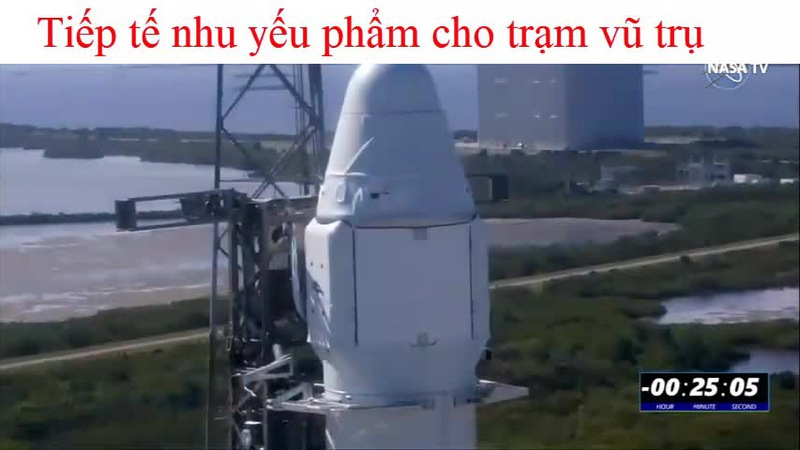 Phóng thành công tên lửa tiếp nhu yếu phẩm cho trạm vũ trụ quốc tế