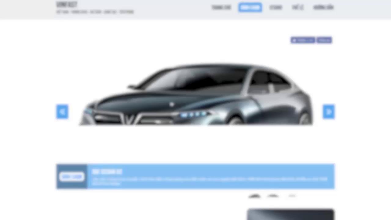 Các mẫu thiết kế của Ital Design dành cho xe hơi VINFAST