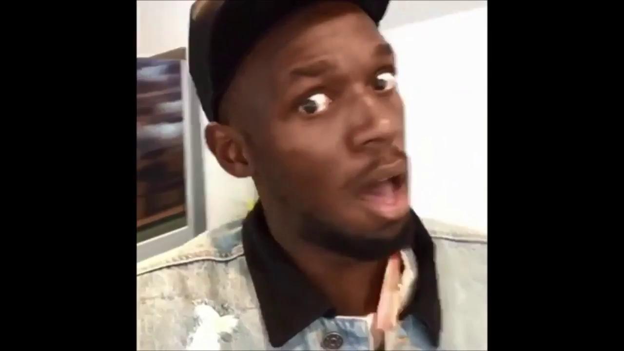 Lewis Hamilton biểu diễn donut với Usain Bolt