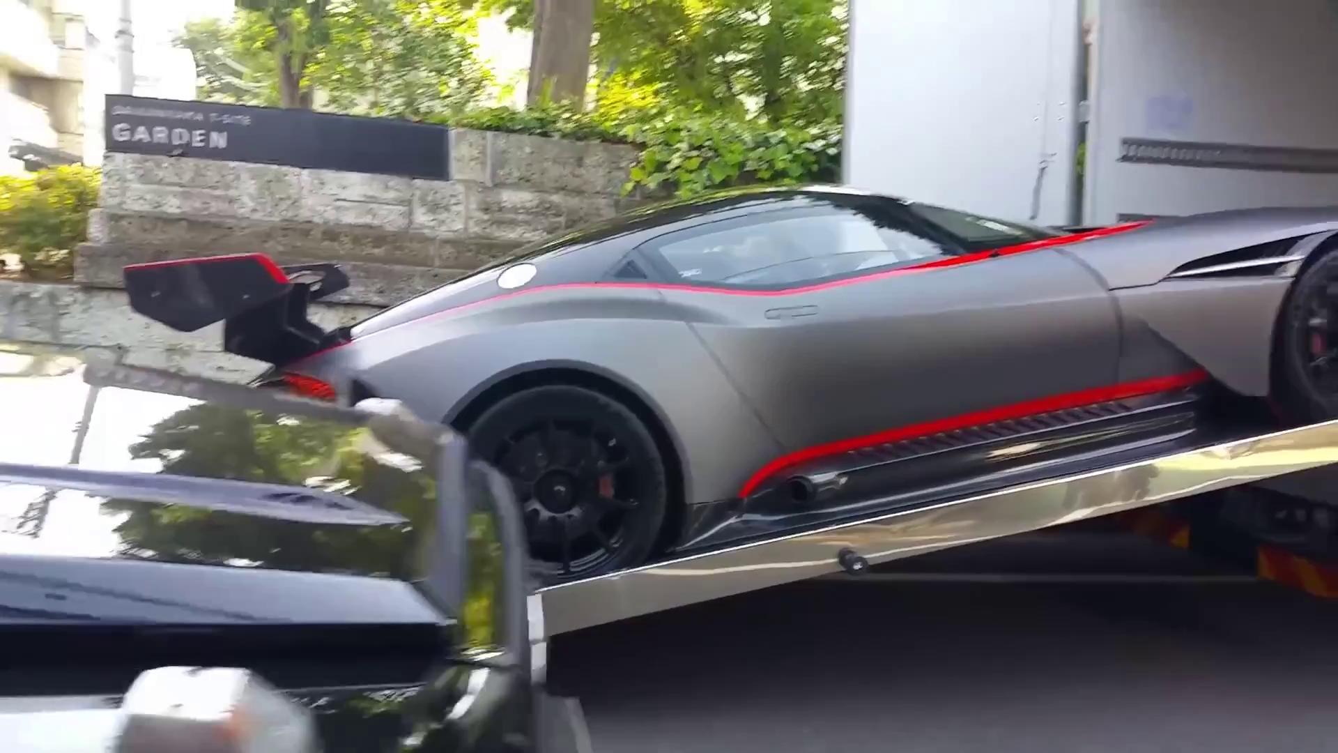 """""""Đập thùng"""" Aston Martin Vulcan đầu tiên tại Nhật Bản"""