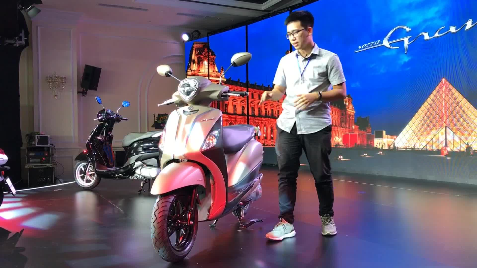 Đánh giá nhanh Yamaha Grande Hybrid vừa ra mắt Việt Nam