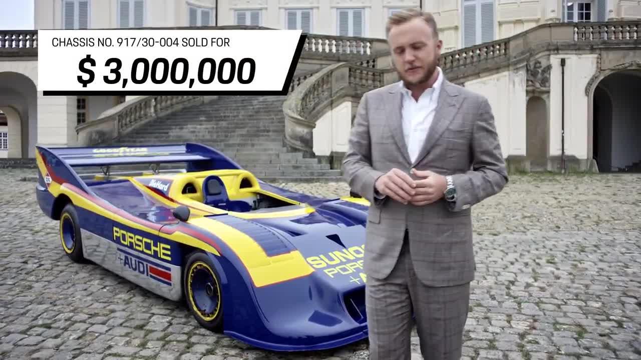 5 mẫu xe Porsche đắt nhất trong lịch sử