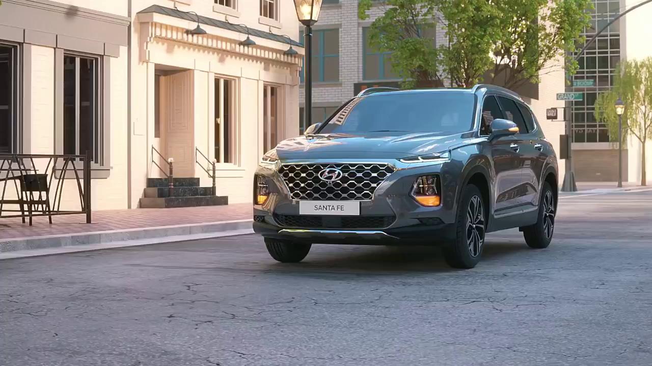 Khám phá công nghệ an toàn trên Hyundai Santa Fe 2019