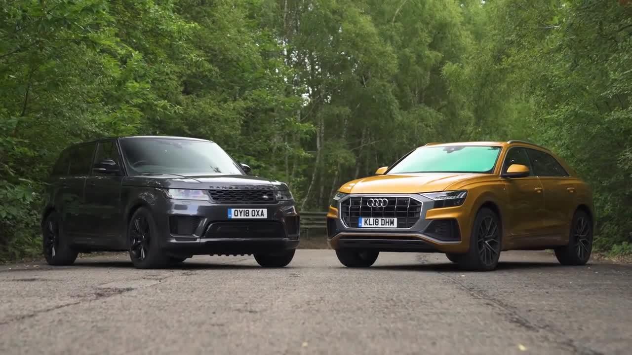 So sánh Audi Q8 vs Range Rover Sport 2019