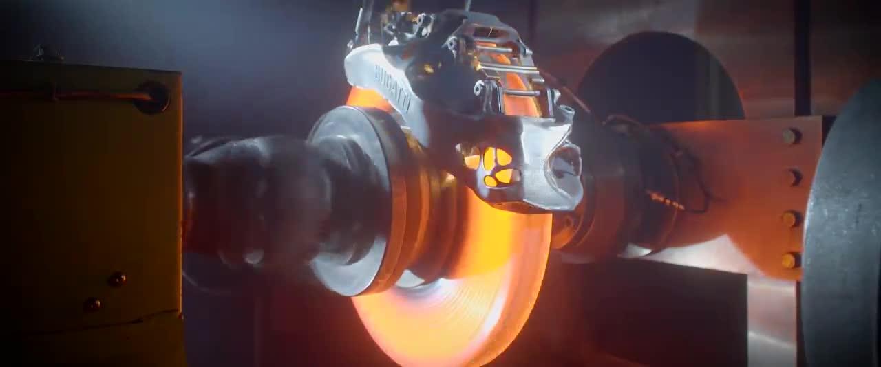 Quy trình Bugatti dùng để thử nghiệm phanh titan in 3D hàng đầu thế giới
