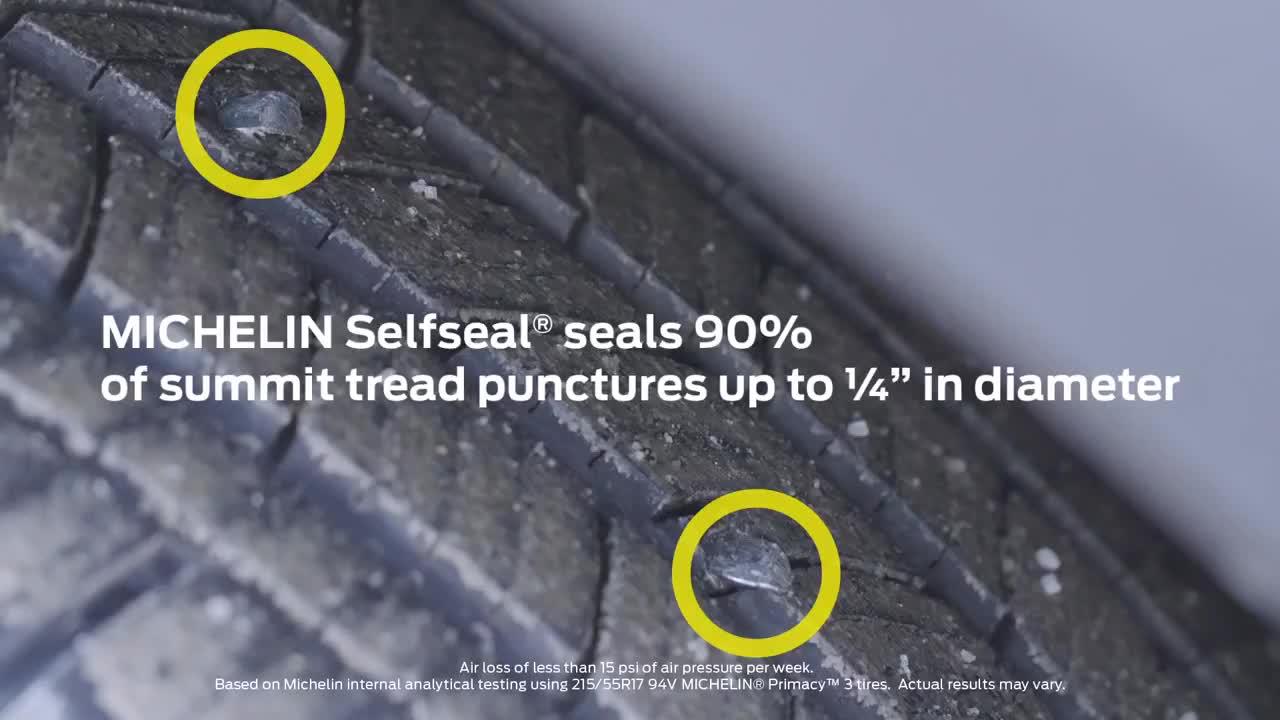 Công nghệ lốp tự lành Michelin Selfseal trên Ford Explorer 2020