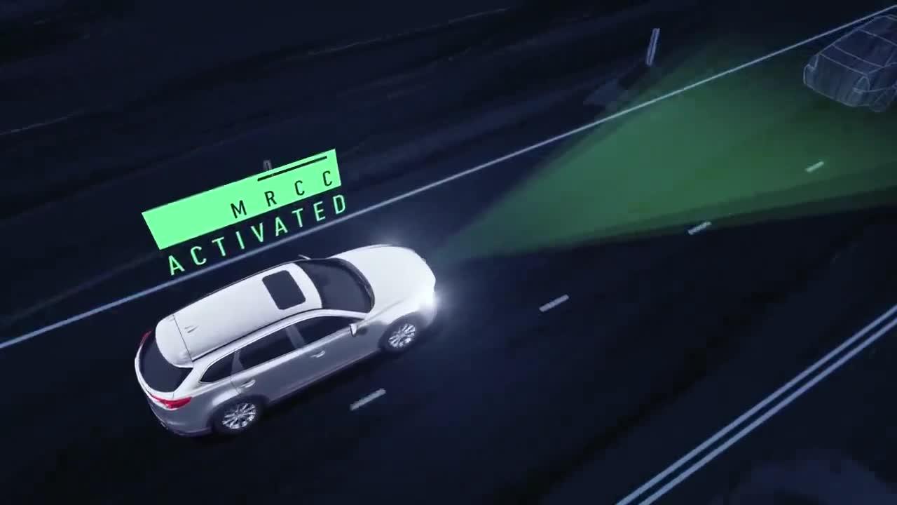 Khám phá tính năng bám theo xe khác trên Mazda CX-8 sắp bán tại Việt Nam