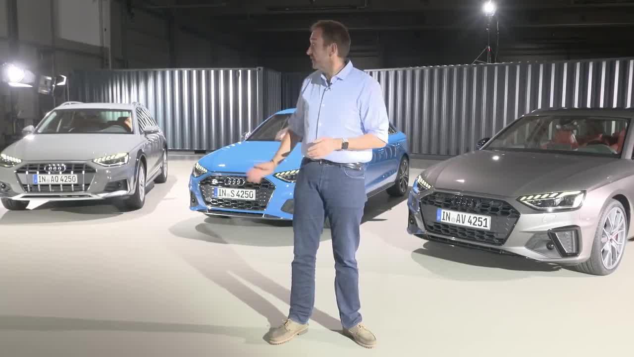 Audi A4 Facelift 2020