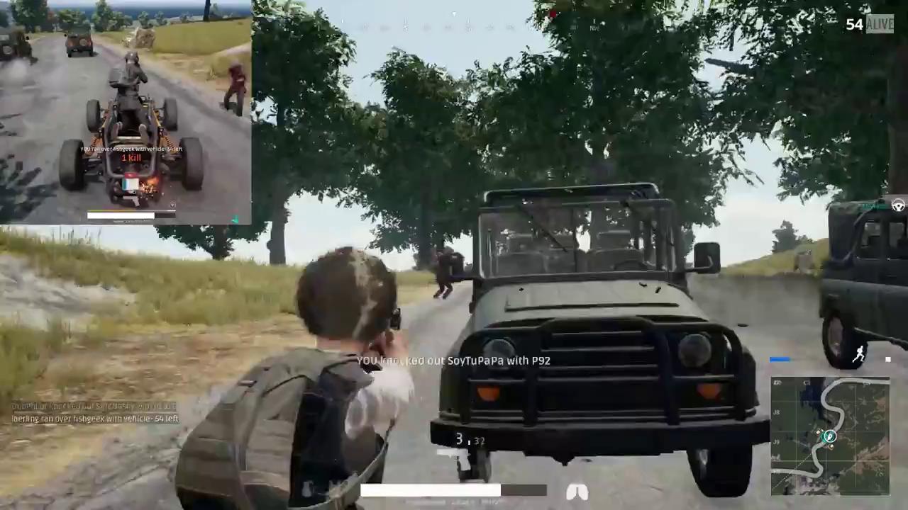 Chán bắn nhau, game thủ PUBG hò nhau kiếm xe để... lập giải đua xe bắn súng y chang Death Race