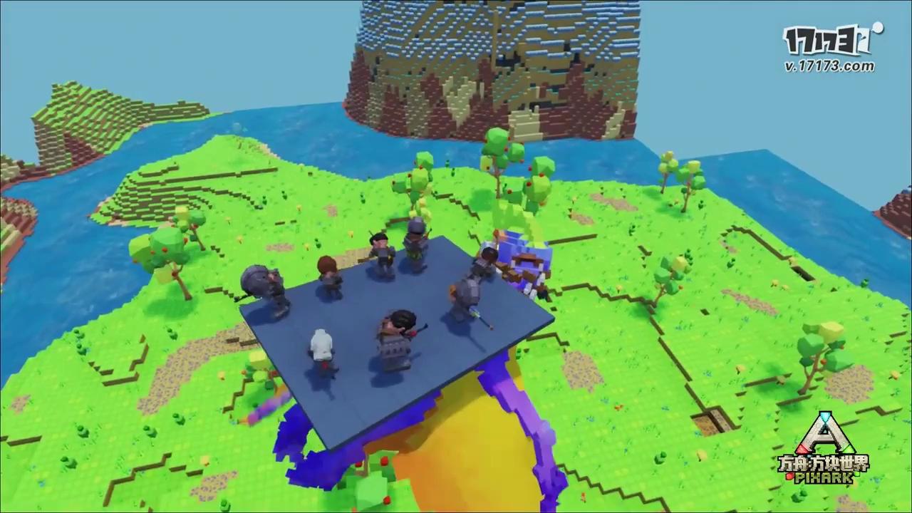 Game săn khủng long 'ô vuông' PixArk đã mở cửa rộng rãi