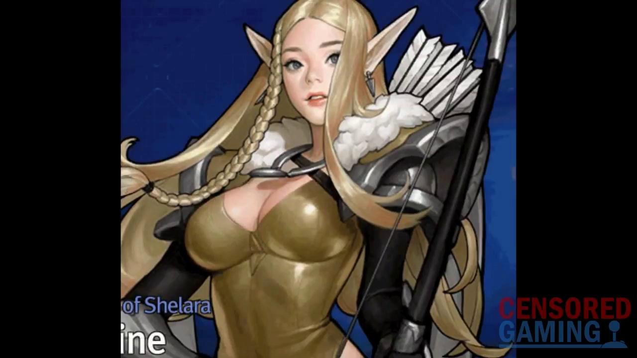 Game online nổi tiếng xứ Hàn phải 'che' ngực nhân vật nữ vì quá sexy