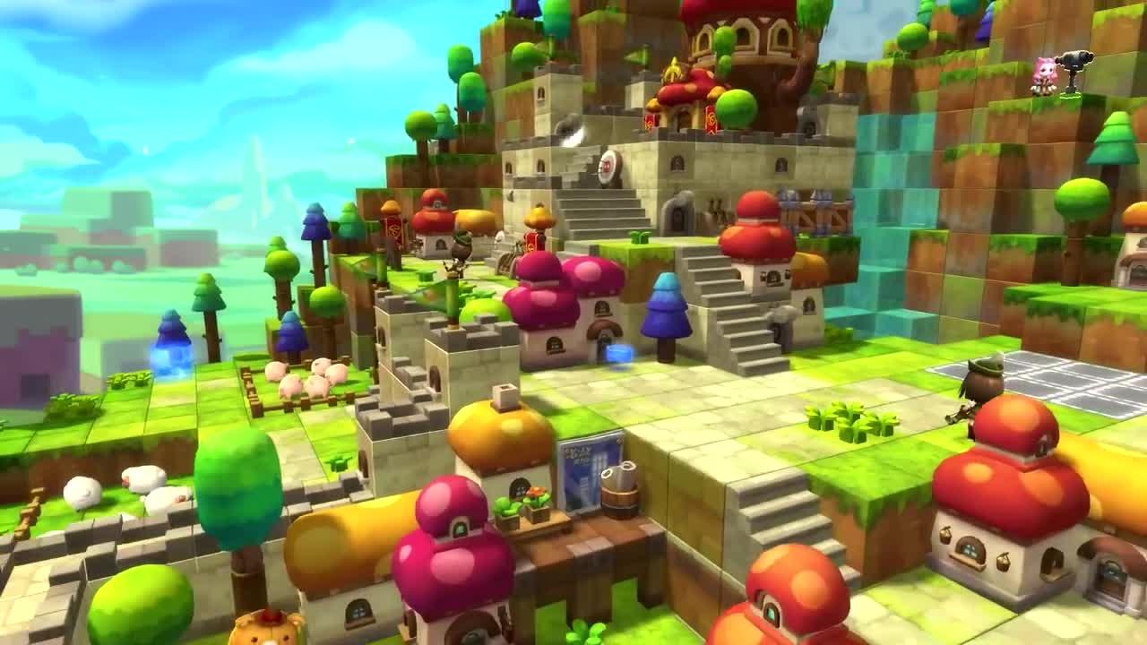 Game tuyệt đỉnh cute MapleStory 2 bất ngờ mở website, sắp ra mắt bản tiếng Anh - ảnh 1