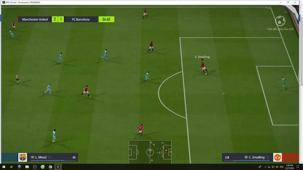 """Thưởng thức tuyệt kỹ """"câu giờ"""" đang phá nát hệ thống rank trong FIFA ONLINE 4 - ảnh 3"""