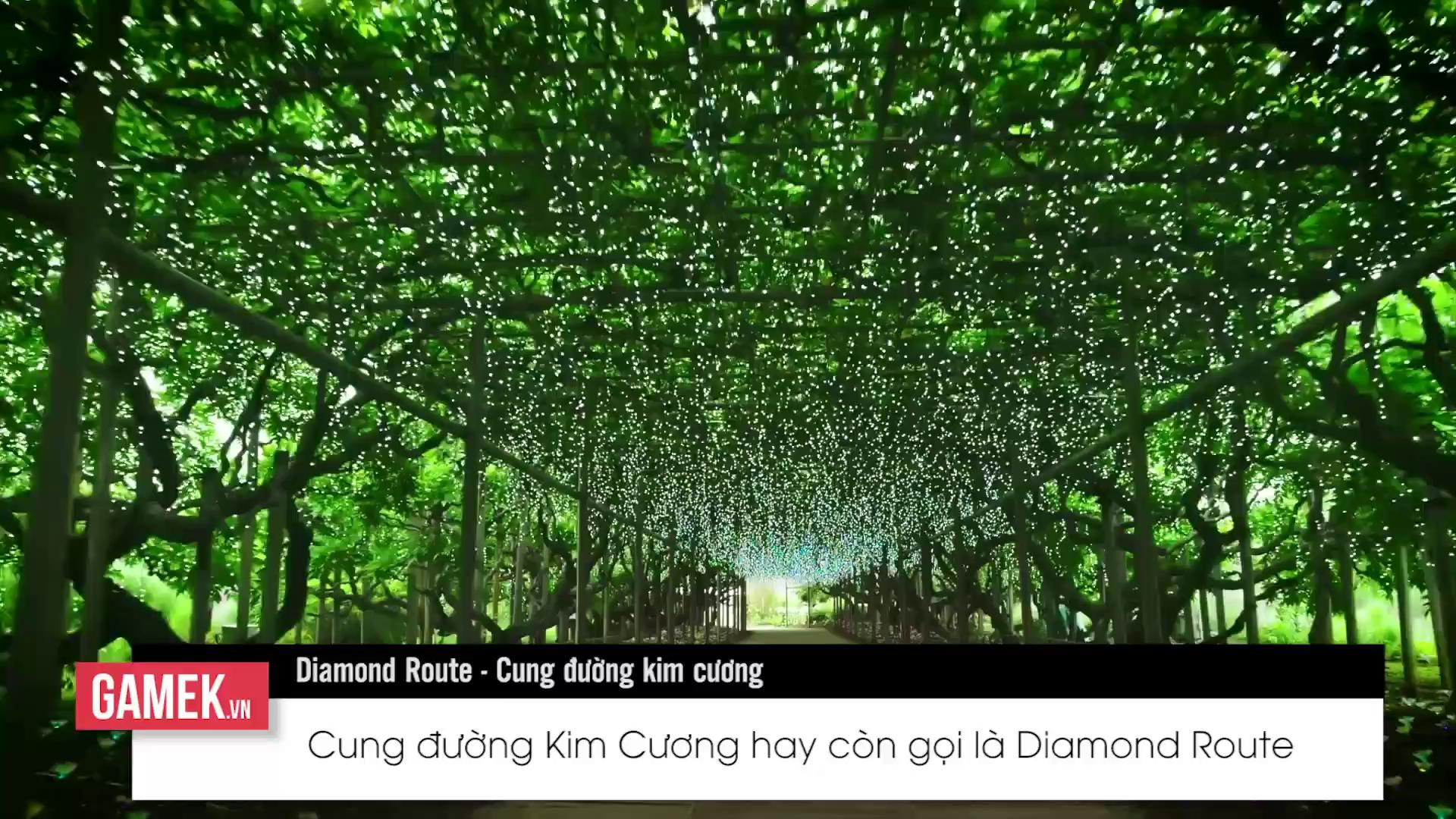 Cùng đến với Cung đường Kim cương, hành trình khám phá thế giới Nhật Bản vô cùng kỳ thú