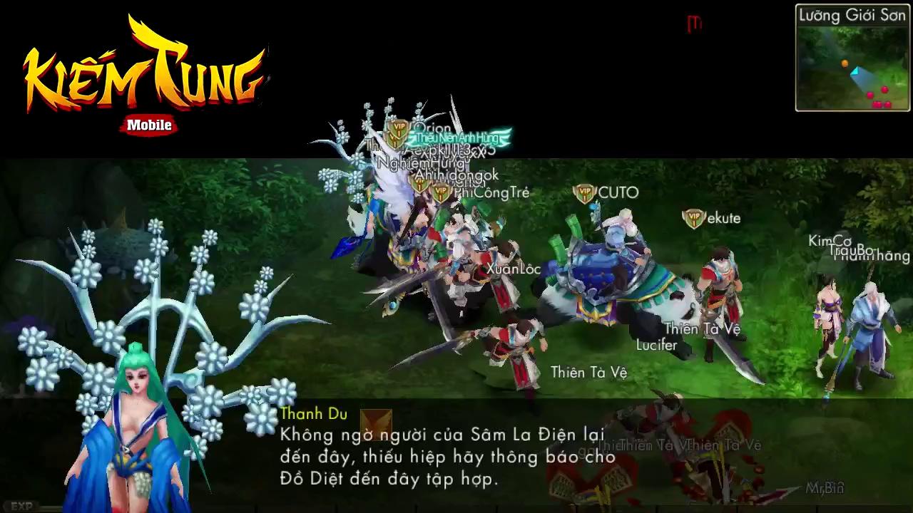Kiếm Tung Mobile: Kỷ nguyên mới của loạt game MMORPG trên Smartphone?