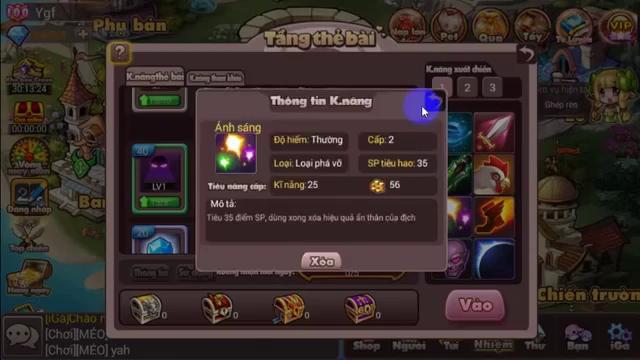 Phiên bản Update thứ 11: Bậc Thầy Kỹ Năng - iGà mang tới cho người chơi những gì?