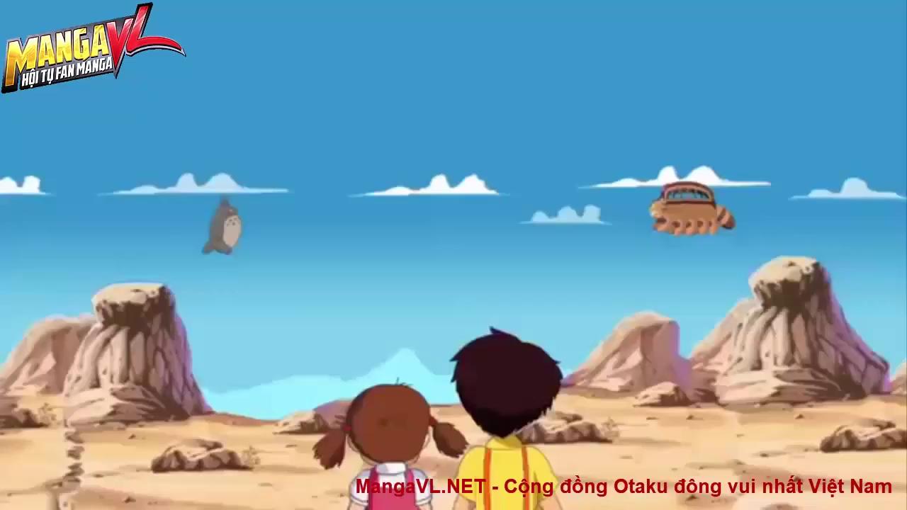 """Bùm! mất luôn tuổi thơ khi các phim hoạt hình Ghibli Studio bị chế """"lầy"""" không thể đỡ"""