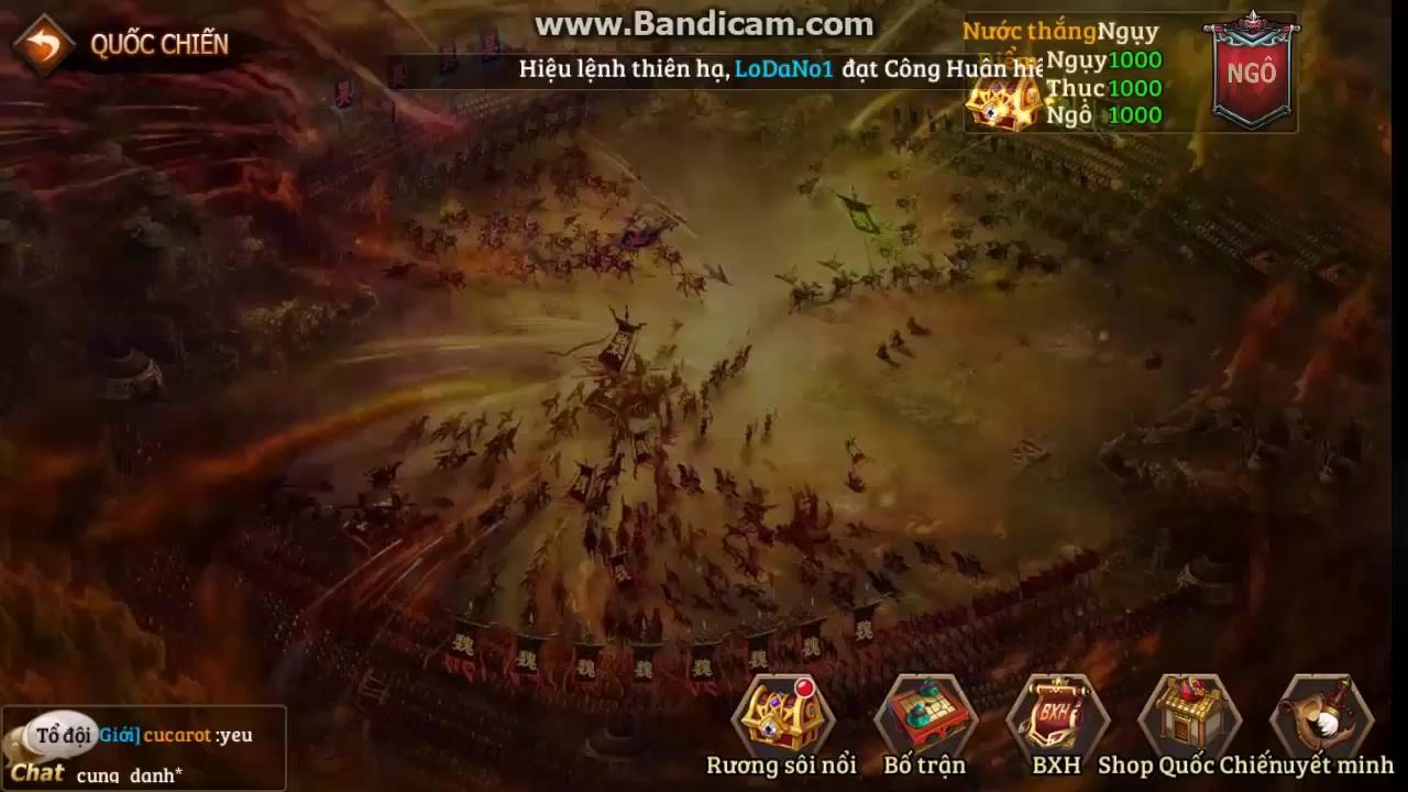 Âm thầm mở Alpha Test, Vô Địch Tam Quốc vẫn có hàng ngàn game thủ tham gia Quốc Chiến