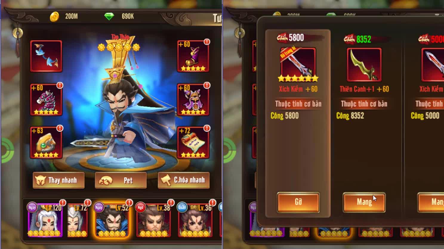 """Chỉ bằng một tính năng mới, Quan Vũ hay Lữ Bố trong game tự nhiên trông """"lực"""" hơn hẳn thế này đây - ảnh 9"""
