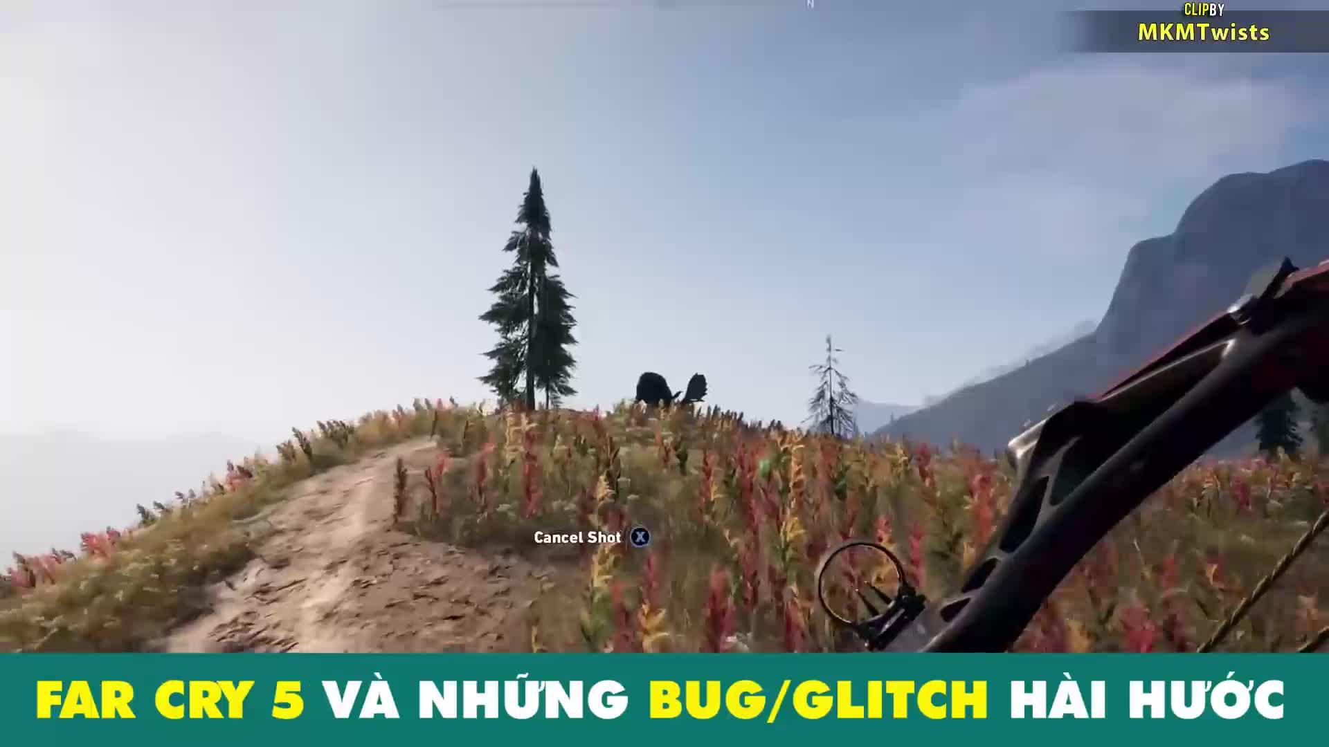 Chết cười với những bug hài hước trong Far Cry 5 - ảnh 1