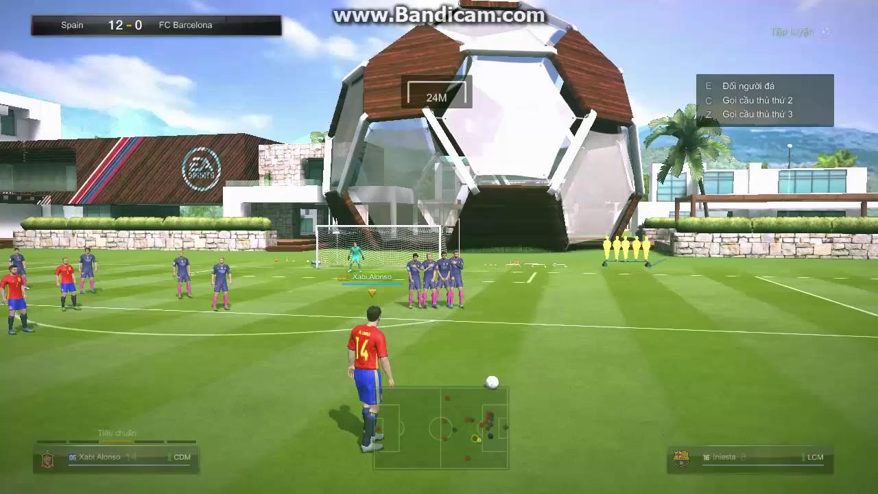 4 cách phối hợp đá phạt ảo diệu trong FIFA Online 3