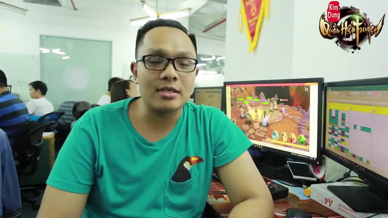 """Developer eWings Studio: """"Với Kim Dung Quần Hiệp Truyện, người chơi cũng có thể làm game"""""""