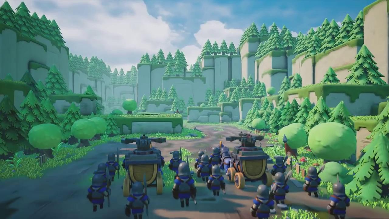 Game thuần Việt Caravan War, game thủ thành chiến thuật dễ thương đã chính thức mở cửa!