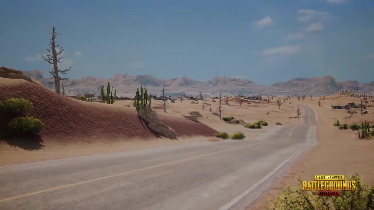 Ơn giời, PUBG Mobile quốc tế bản 0.5.0 có map Sa Mạc cuối cùng đã cập nhật rồi