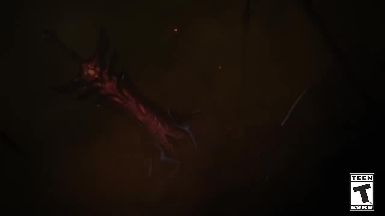 LMHT: Riot hé lộ tạo hình của Aatrox mới được làm lại, là một con quỷ kiếm mang đôi cánh bốc lửa - ảnh 2
