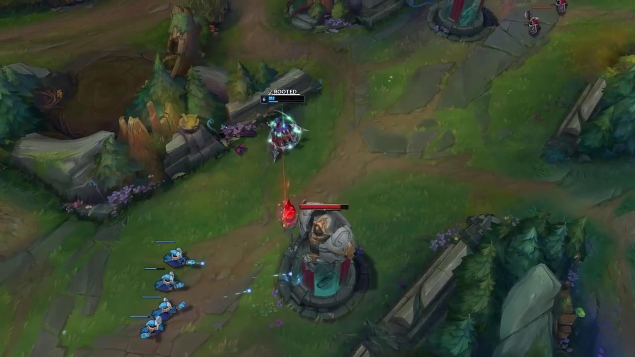 Liên Minh Huyền Thoại: Trở về với bộ kỹ năng cũ, Leblanc 1 hit giết Baron, trói E đối thủ chết cứng 25 giây