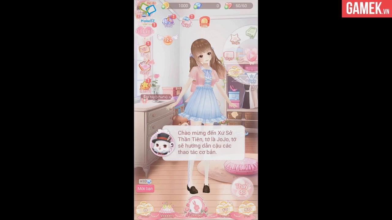 Trải nghiệm Alice 3D - Xu hướng mới của thể loại game thời trang