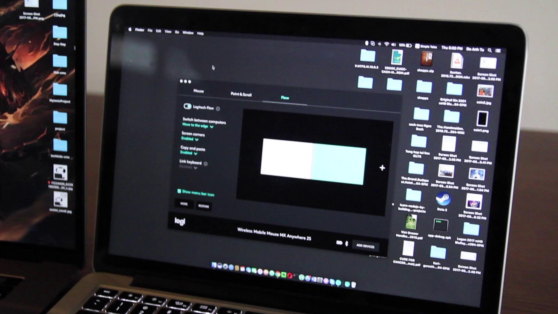 Video thử nghiệm tính năng Logitech Flow VIDEO CLIP   GenK vn