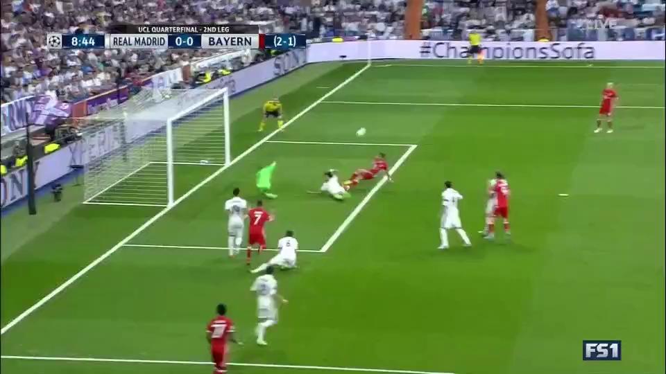 Ronaldo lập hat-trick, Real loại Bayern vào bán kết Champions League