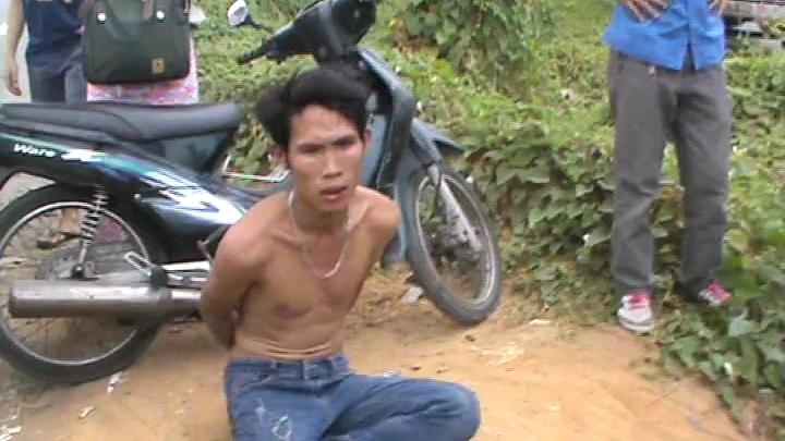 CSGT truy bắt hai tên cướp giật trên quốc lộ 1A