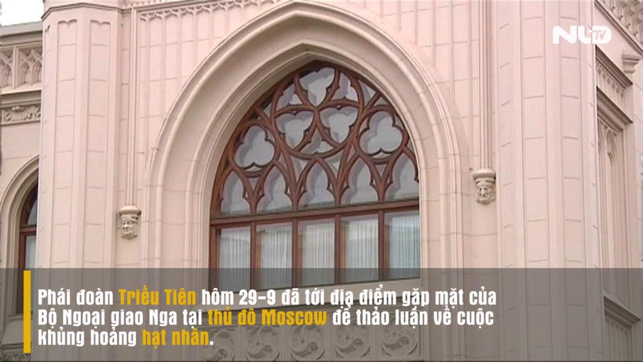 Giới chức Nga -Triều Tiên gặp kín ở Moscow