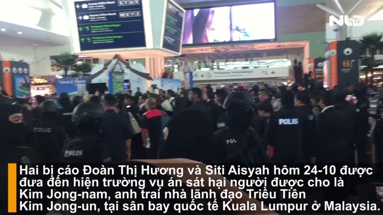 Sân bay Malaysia náo loạn khi Đoàn Thị Hương xuất hiện