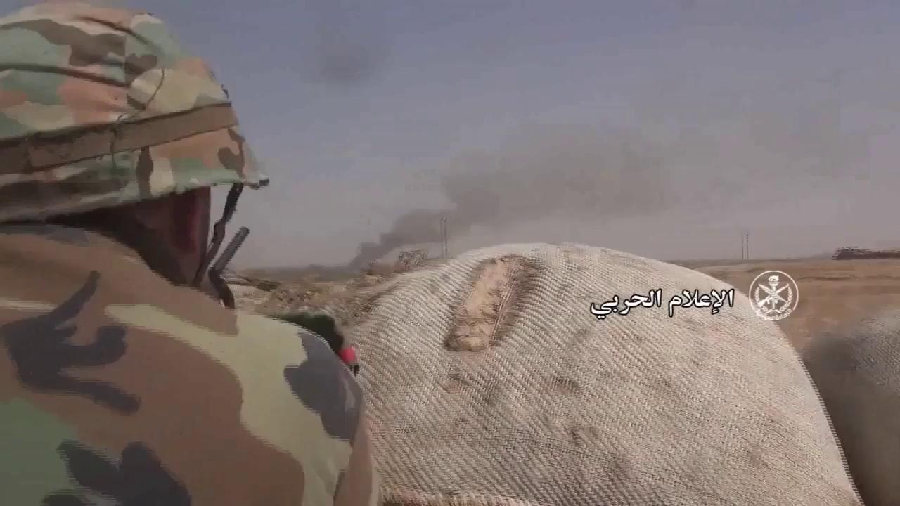 Các đơn vị quân đội Syria vượt sông Euphrates - video truyền thông Hezbollah