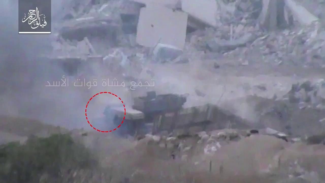 Lực lượng khủng bố cực đoan bắn hỏng một xe Shilka trong cuộc tấn công của quân đội Syria - video truyền thông Hồi giáo cực đoan