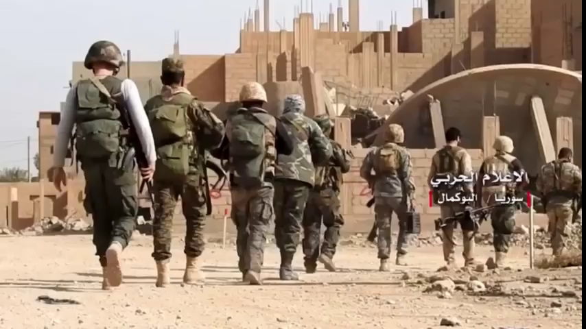 Toàn cảnh cuộc chiến giải phóng thành phố Al-Bukamal - video truyền thông Hezbollah