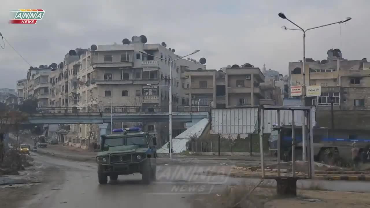 Quân cảnh Nga hoạt động ở Syria