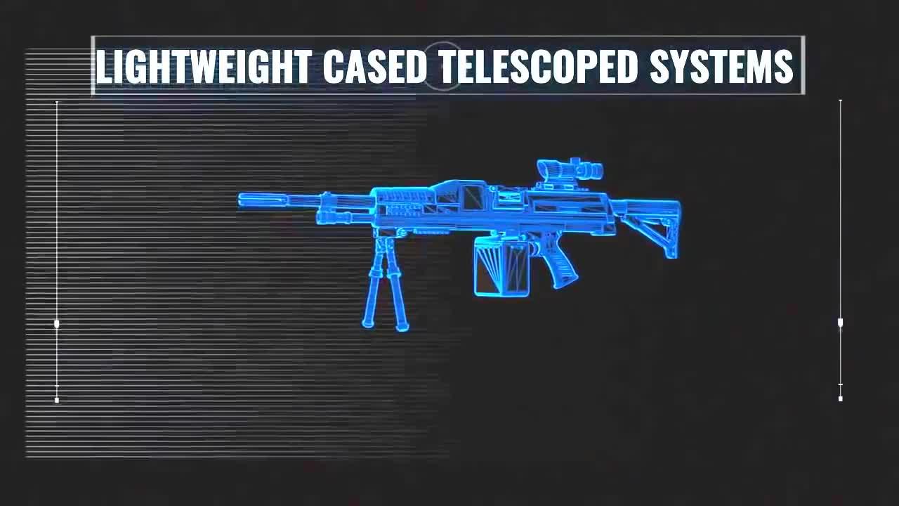 Giới thiệu súng LSAT của Textron