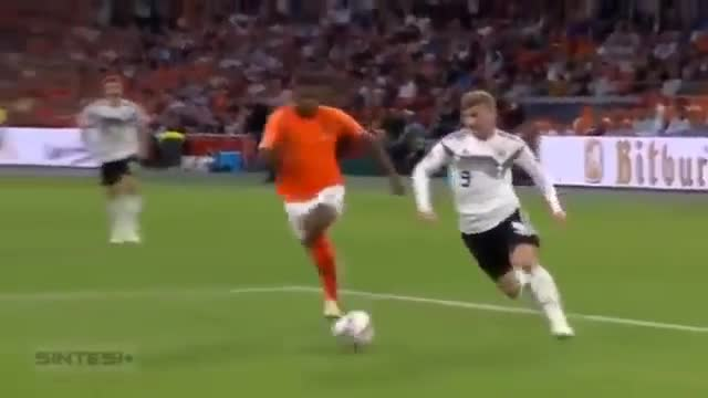 Bảng 1, UEFA Nations League: Hà Lan 3-0 Đức