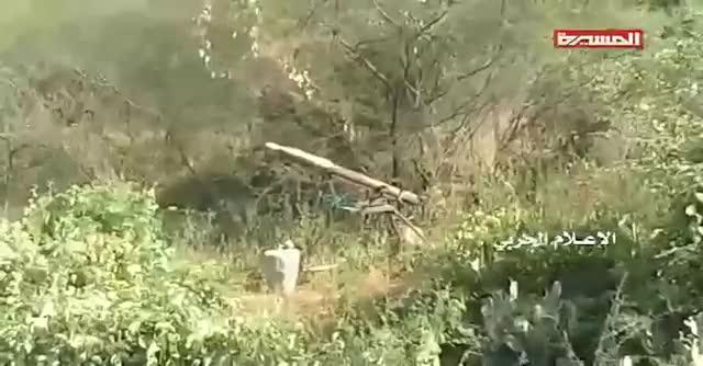 Lực lượng Houthi phóng tên lửa IRAM tấn công quân đội Ả rập Xê-út.