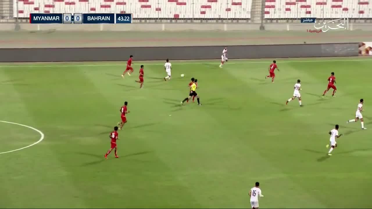 Giao hữu: Bahrain 4-1 Myanmar