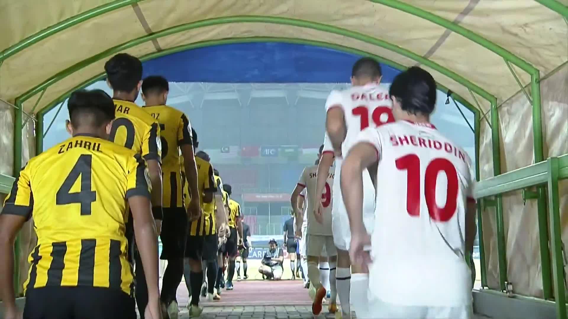 Vòng bảng U19 châu Á: Malaysia 2-2 Tajikistan