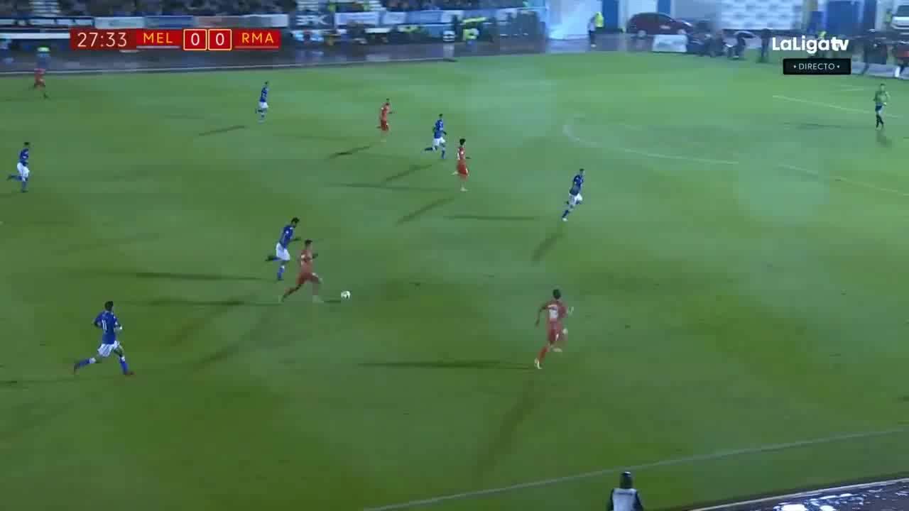Vòng 1/16 Cúp Nhà vua: Mellila 0-4 Real Madrid