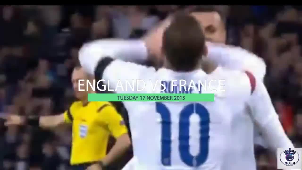 Top 10 bàn thắng của Wayne Rooney trong màu áo đội tuyển Anh