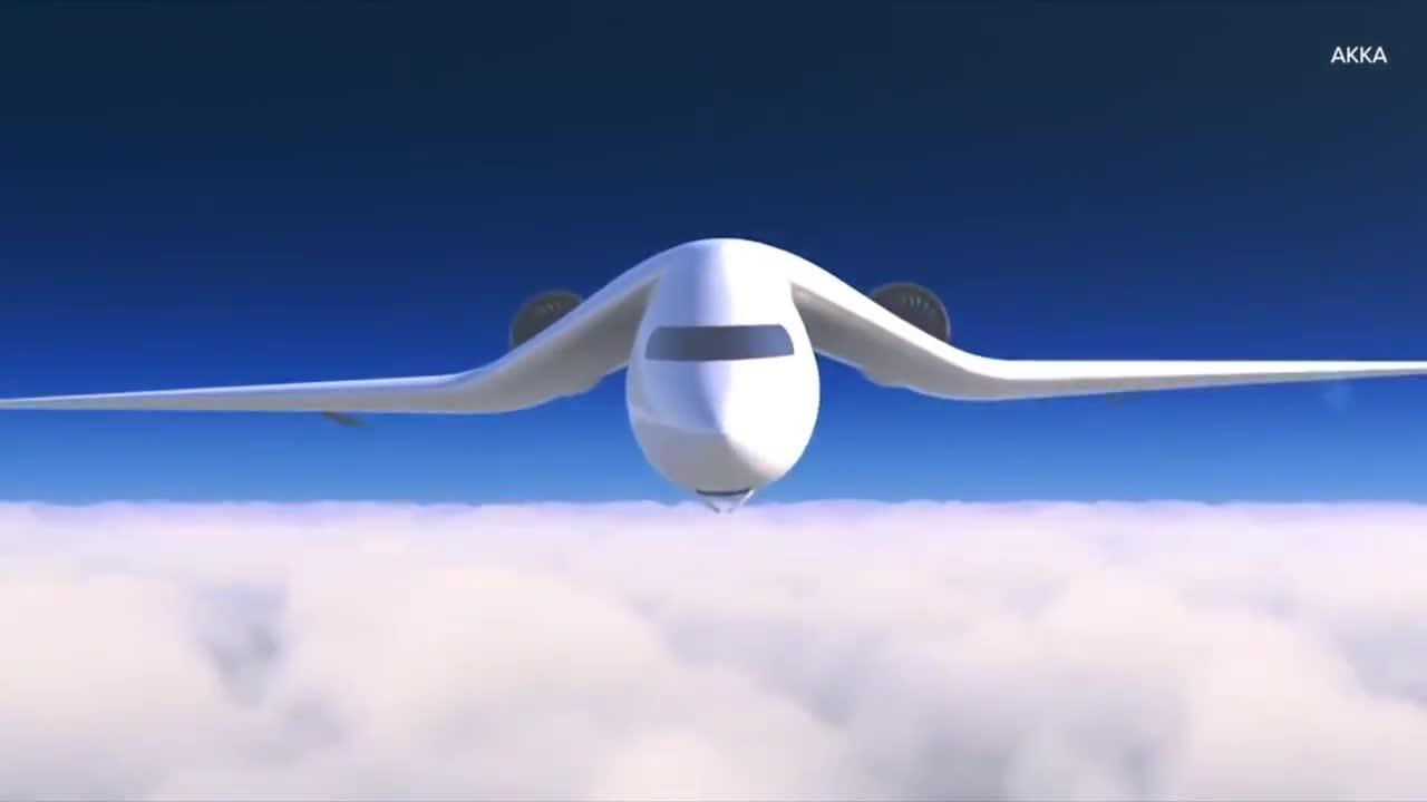 Di chuyển bằng máy bay ''lai'' tàu hỏa trong tương lai