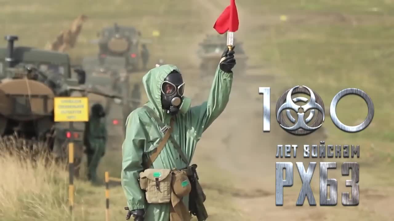 Lực lượng Bộ đội phòng chống vũ khí hủy diệt lớn (Binh chủng hóa học) Nga kỷ niệm 100 năm ngày thành lập
